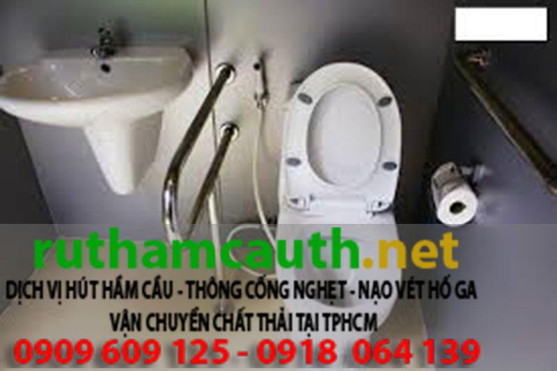Hút hầm cầu huyện Bình Chánh