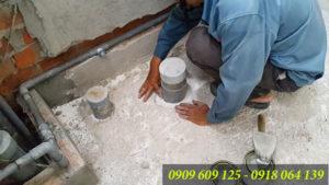Sửa chữa toilet nhà vệ sinh, thông tắc và chống thấm sàn tại TPHCM