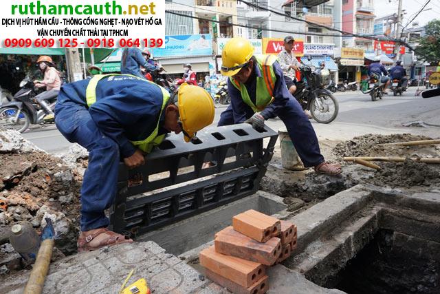 Đào hầm cầu Quận Bình Tân