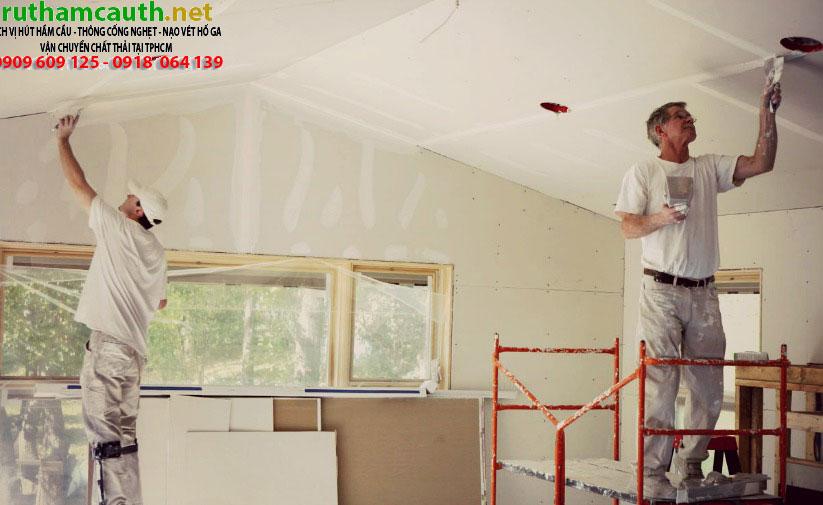 4 công đoạn không thể bỏ qua khi sơn chống thấm tường nhà