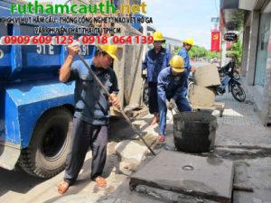 Giá đào đường thoát nước huyện Nhà Bè