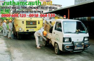 Hút hầm cầu phường Nguyễn Cư Trinh Quận 1