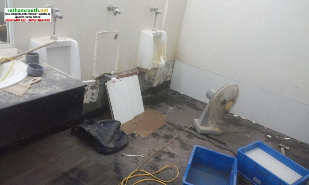 Báo giá chống thấm nhà vệ sinh Quận 7