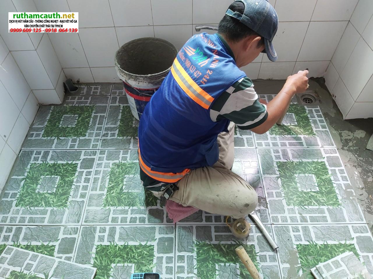 Báo giá chống thấm nhà vệ sinh huyện Bình Chánh
