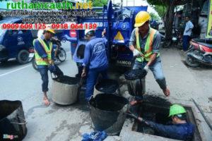 Giá đào đường thoát nước huyện Hóc Môn
