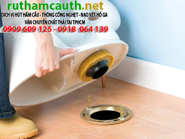 Lắp đặt, thay thế bồn cầu – lavabo – thiết bị toilet