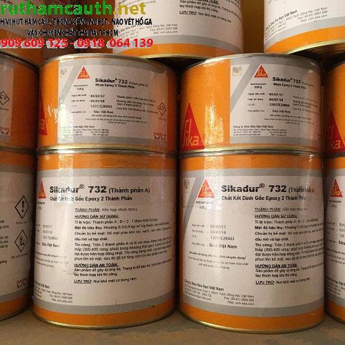 Giá một số loại vật liệu Sika trong chống thấm