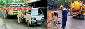 Thông cống nghẹt phường Bình An quận 2 HCM
