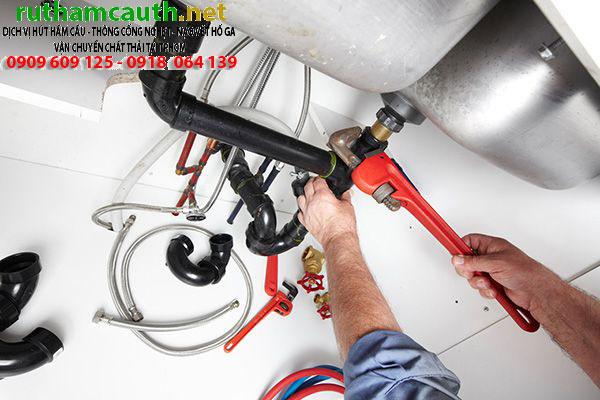 Sửa ống nước bồn cầu