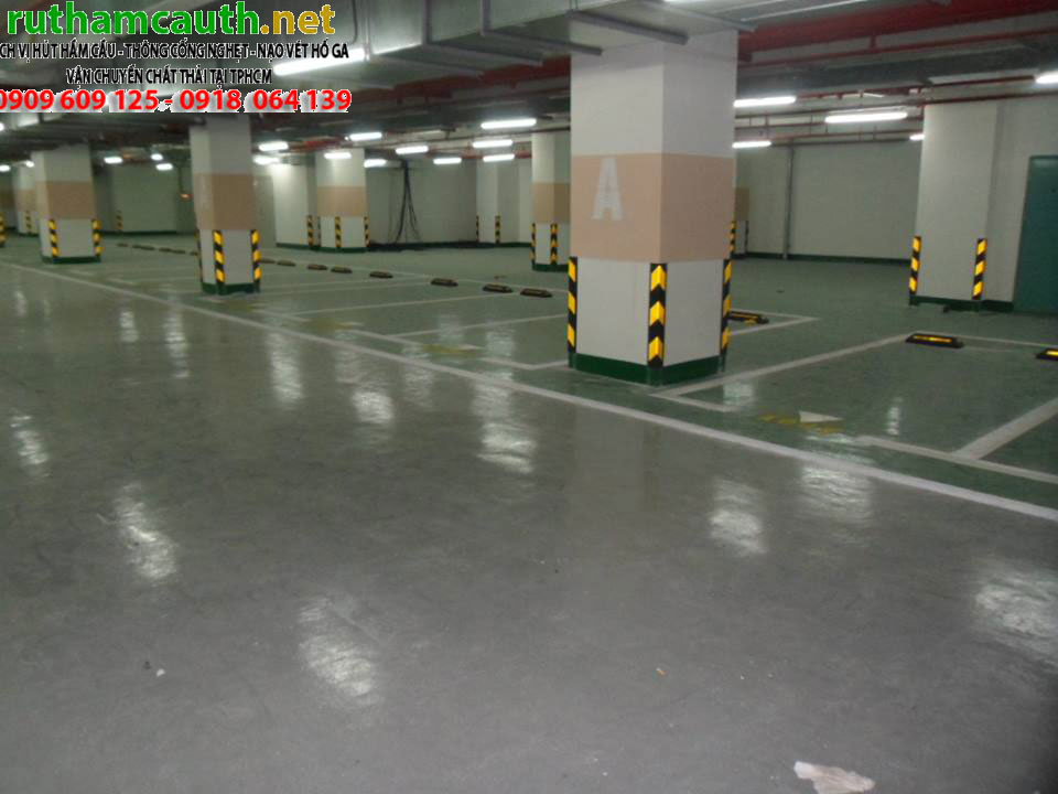 Thi công chống thấm tầng hầm triệt để, an toàn bảo hành 15 năm