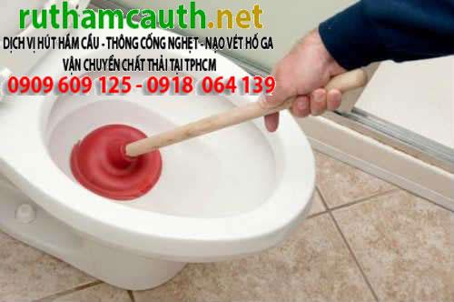 Thợ Thông Tắc Bồn Cầu, Toilet, Bệ Xí, Chậu Rửa