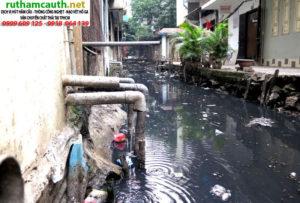 Thông cống nước thải sinh hoạt bao nhiêu tiền?