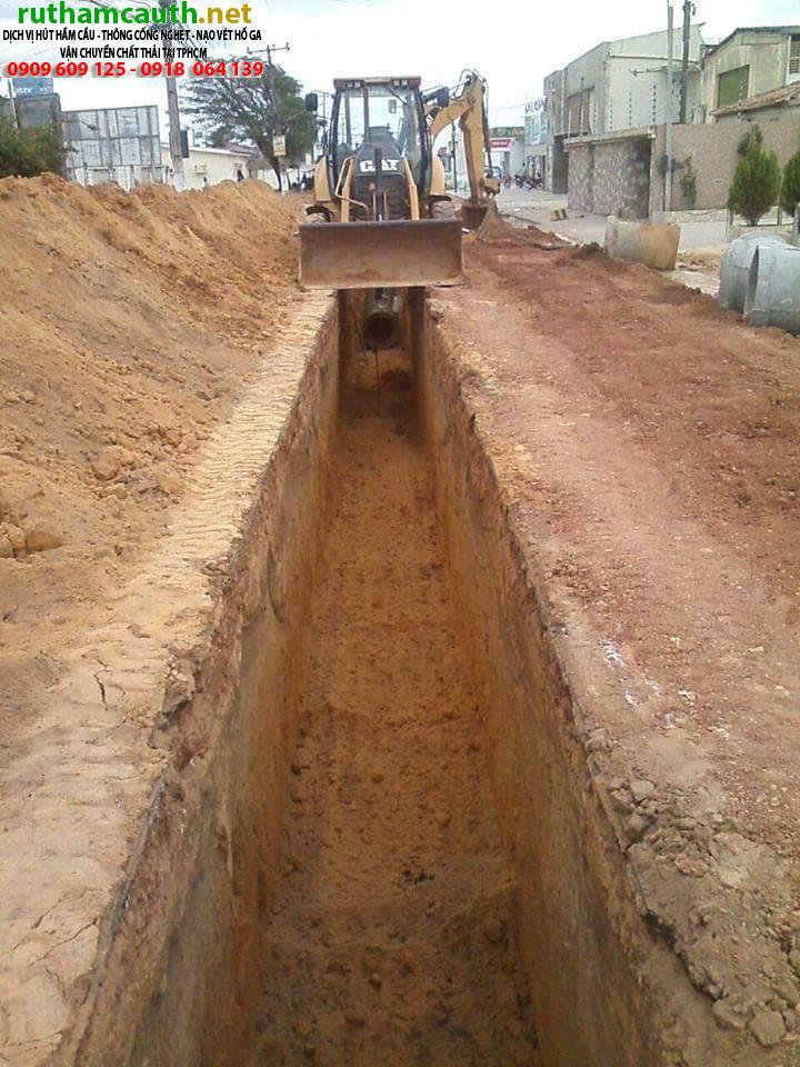 Giá đào đường thoát nước quận Bình Thạnh