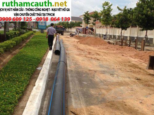 Giá đào đường thoát nước tại Long An