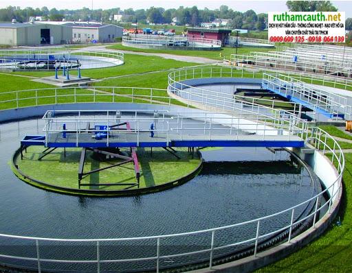 Xử lý nước thải tại Long An