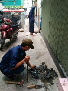 Giá đào đường thoát nước huyện Bình Chánh