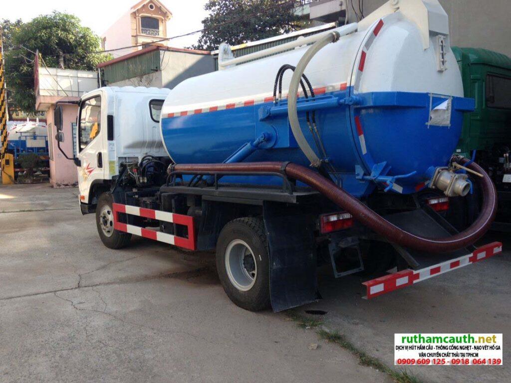 Hút chất thải, vận chuyển vi sinh tại huyện Bình Chánh