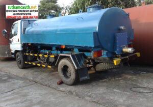 Hút chất thải, vận chuyển vi sinh tại Quận Bình Tân